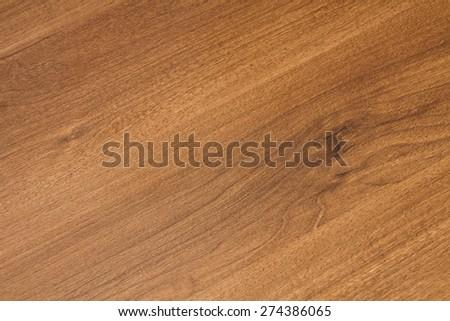 Dark walnut veneer beautifully delineated lines yearly - stock photo