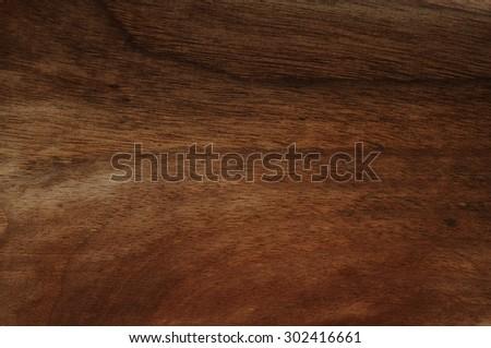 Dark walnut wood background - stock photo
