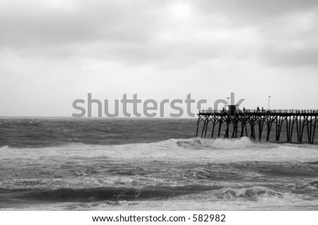 Dark Weather - stock photo