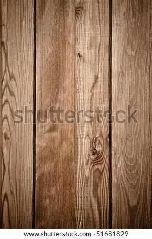 Dark Wood Fence Texture Background - stock photo