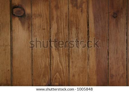 Dark Wood Paneling Background - stock photo