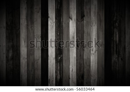 Dark Wood Planks - stock photo