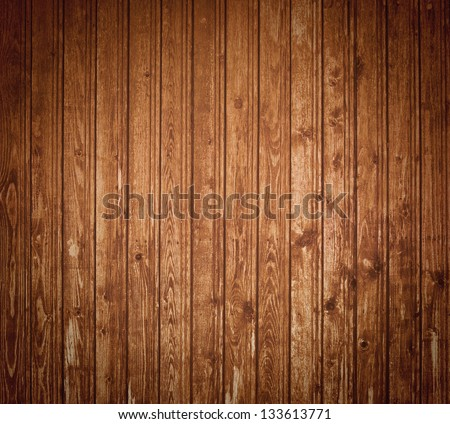 Dark wood planks natural background - stock photo