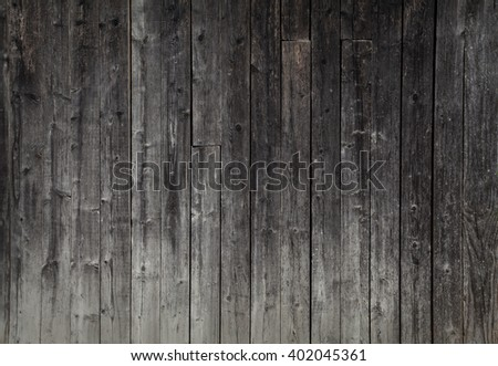dark wood texture. background old panels - stock photo