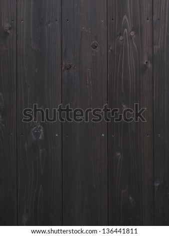 Dark wood texture for use a background - stock photo