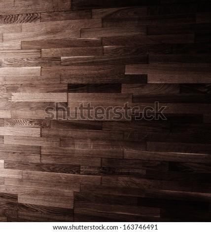 dark wooden background texture. - stock photo