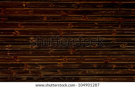 Dark wooden wall. Background or texture