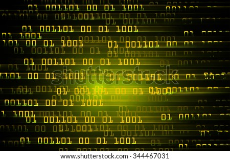 dark yellow color Light Abstract Technology background for computer graphic website internet and business. circuit. illustration. digital. infographics. binary code background.