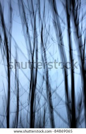 darkness - stock photo