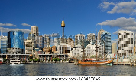 Darling Harbour  - stock photo