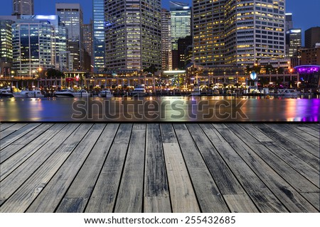Darling Harbour, Sydney - stock photo