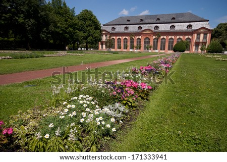 Darmstadt Orangerie - stock photo