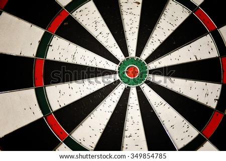 dart board, target, close up