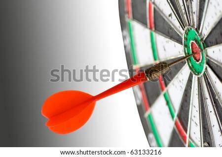 dart game - stock photo