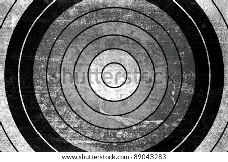 Dartboard background - stock photo