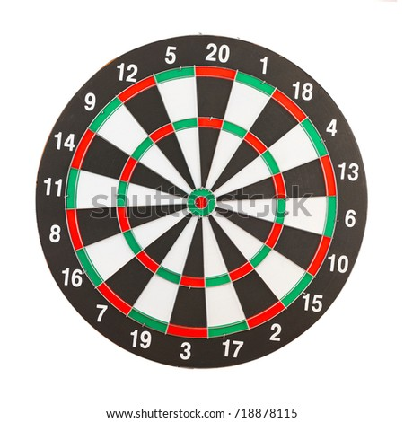 Darts darts isolated on white background. This has clipping path.