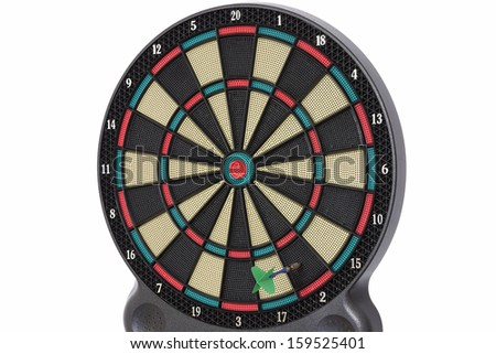Darts game, number 2 - stock photo