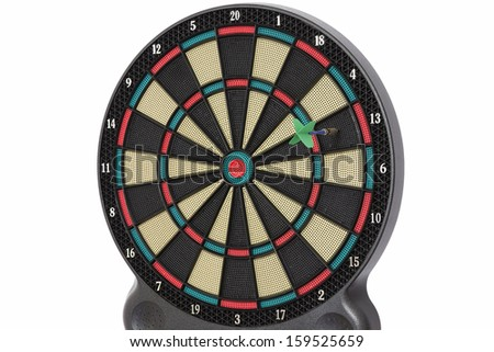 Darts game, number 13 - stock photo