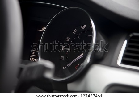 Dashboard - stock photo