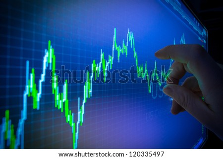 Data analyzing in forex market: the charts and quotes on display. Analytics in pairs USD / CHF