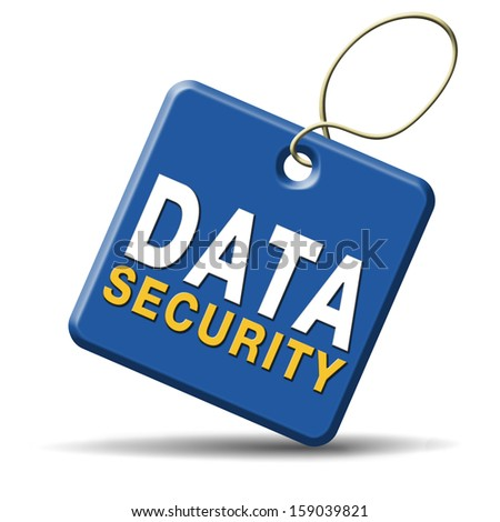 data and internet security protect online information or database in the cloud