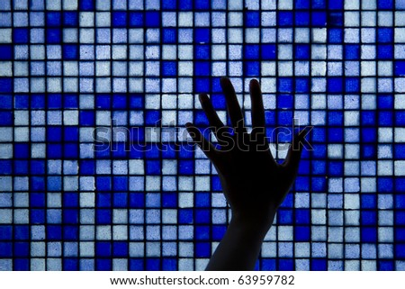 data and technology in purest form, energy... - stock photo