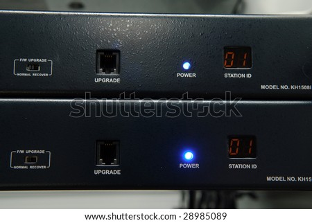 Data-center equipment - stock photo