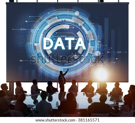 Data Information Stock Exchange Growth Concept