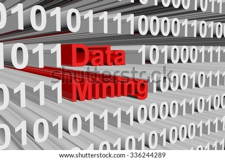 data mining is presented in the form of binary code