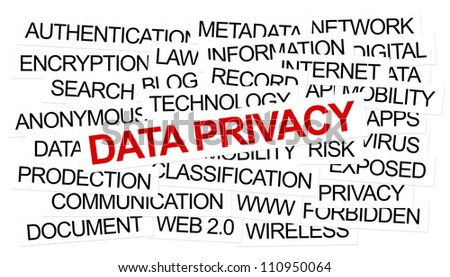Data Privacy Concept . Created using Ps.