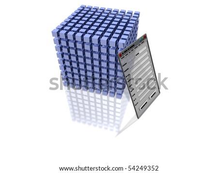 Database - stock photo