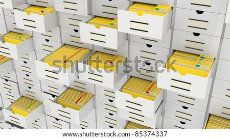 database concept - stock photo