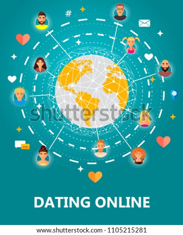 Chat with people around the world online