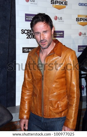"David Arquette at Spike TV's ""Scream 2010,"" Greek Theater, Los Angeles, CA. 10-16-10"