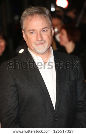 David Fincher at The House of Cards TV premiere held at Odeon, London, England. 17/01/2013 Picture by: Henry Harris