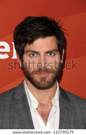 "David Giuntoli at NBC Universal's ""2013 Winter TCA Tour,"" Langham Hotel, Pasadena, CA 01-06-13"