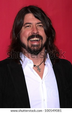 David Grohl at the 2012 MusiCares Person Of The Year honoring Paul McCartney, Los Angeles Convention Center, Los Angeles, CA 02-10-12