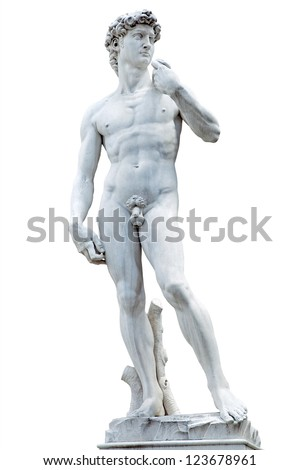 David (Michelangelo) - stock photo