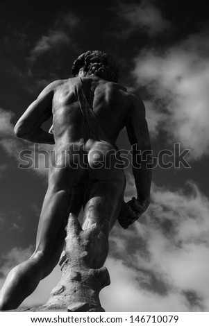 David of Michelangelo. Florence, Italy - stock photo