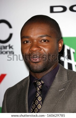 David Oyelowo at the 17th Annual Hollywood Film Awards Arrivals, Beverly Hilton Hotel, Beverly Hills, CA 10-21-13 - stock photo