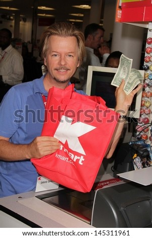 "David Spade at K-Mart for the Upcoming Release Of ""Grown Ups 2,"" K-Mart, Los Angeles, CA 07-03-13"