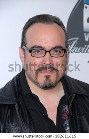 David Zayas at the World Poker Tour Celebrity Invitational Tournament, Commerce Casino, Commerce, - stock-photo-david-zayas-at-the-world-poker-tour-celebrity-invitational-tournament-commerce-casino-commerce-102611615