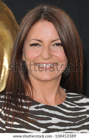 Davina McCall arriving for the BAFTA TV Awards 2012 at the Royal Festival Hall, South Bank, London. 27/05/2012 Picture by: Steve Vas / Featureflash - stock photo