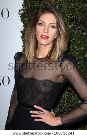 Dawn Olivier at the Valentino 50th Anniversary Kick Off Party and unveiling of their new Beverly Hills Flagship Store, Valentino, Beverly Hills, CA 03-27-12