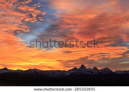 Dawn's True Colors - stock photo
