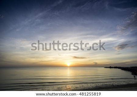 Dawn Sunrise Beach