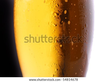 Day & Night abstract beer background - stock photo