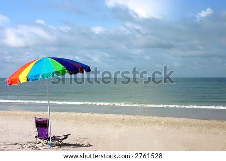 Day of fun on Florida's Gulf Coast.Madeira Beach Florida - stock photo