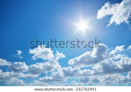 Day sunlight - stock photo