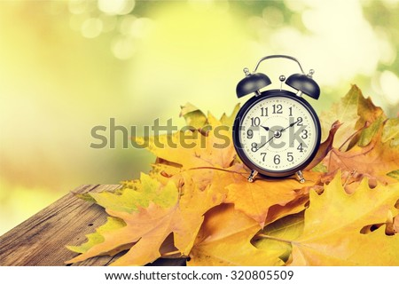 Daylight Savings Time. - stock photo